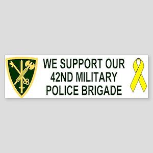 42nd MP Brigade <BR>Family Bumper Sticker