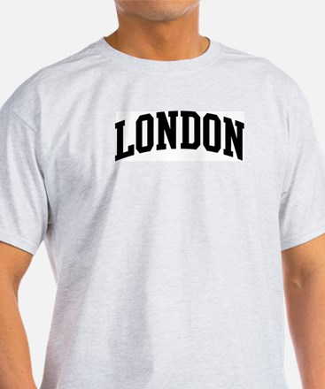 LONDON (curve-black) T-Shirt