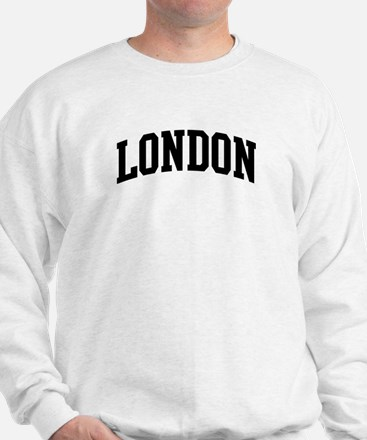 LONDON (curve-black) Sweatshirt