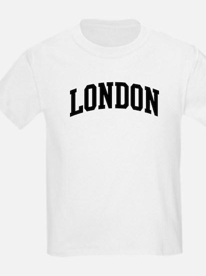 LONDON (curve-black) T-Shirt