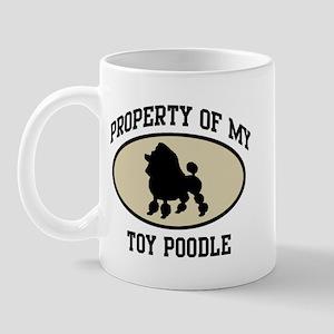 Property of Toy Poodle Mug