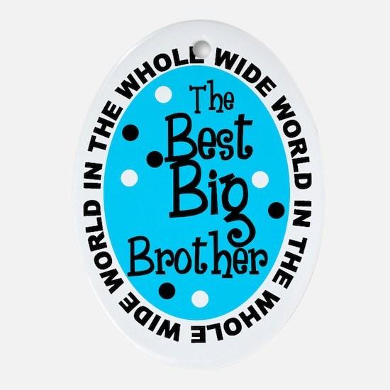 Big Bro.png Ornament (oval)