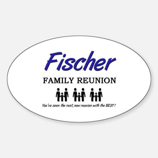 Fischer Family Reunion Oval Bumper Stickers