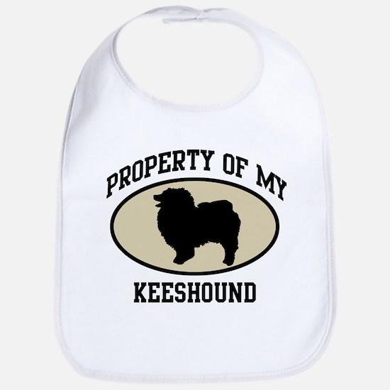 Property of Keeshound Bib