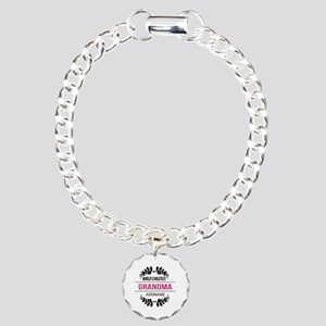 World's Greatest Grandma Charm Bracelet, One Charm