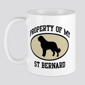 Property of St Bernard Mug