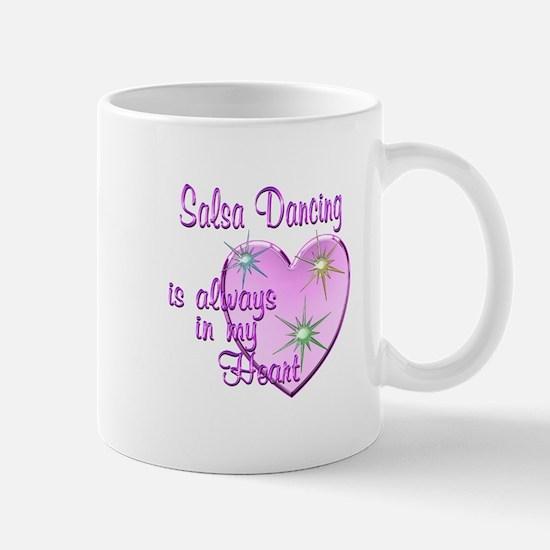 Salsa Heart Mug