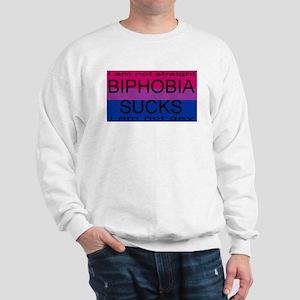 """""""Biphobia Sucks"""" Sweatshirt"""