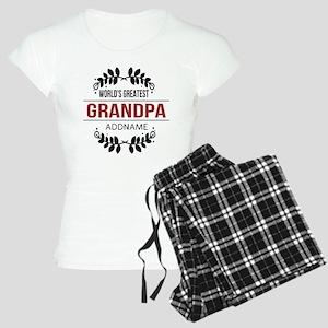 Custom Worlds Greatest Gran Women's Light Pajamas