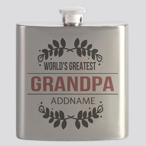 Custom Worlds Greatest Grandpa Flask