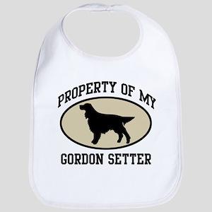 Property of Gordon Setter Bib
