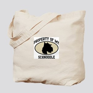 Property of Schnoodle Tote Bag