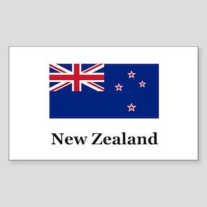 New Zealand Rectangle Sticker