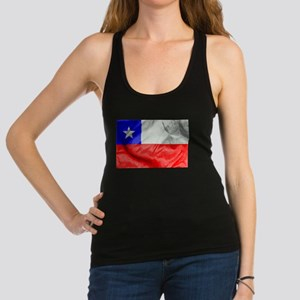 Chile Flag Racerback Tank Top