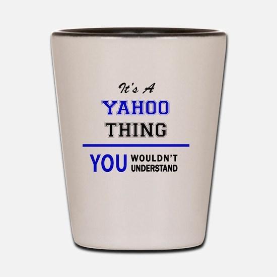 Cute Yahoo Shot Glass