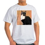 Curious Cat Light T-Shirt