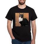 Curious Cat Dark T-Shirt