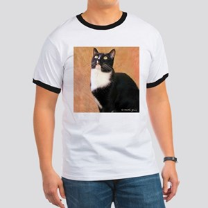 Curious Cat Ringer T