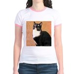 Curious Cat Jr. Ringer T-Shirt