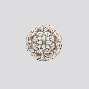 Mandala Mini Button