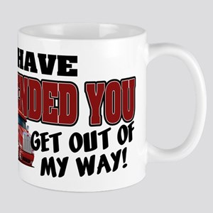 Offended Trucker - Canadian (Red) Mug