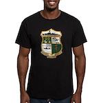 USS EUGENE A. GREENE Men's Fitted T-Shirt (dark)
