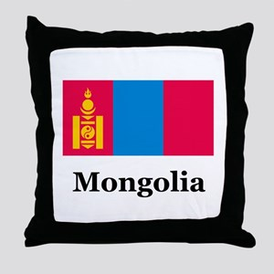 Mongolia Throw Pillow