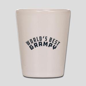 World's Best Grampy Shot Glass