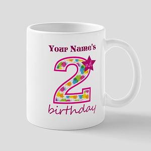 2nd Birthday Splat - Personalized Mug