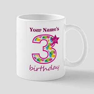 3rd Birthday Splat - Personalized Mug