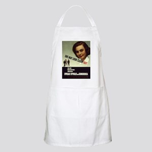 Spread Syphilis and Gonorrhea BBQ Apron