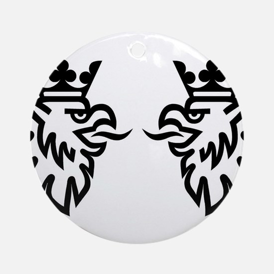 Griffins are born from jets Ornament (Round)