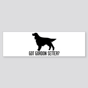 Got Gordon Setter Bumper Sticker
