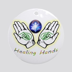 Healing Hands Ornament (round)