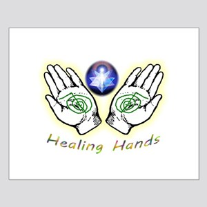 Healing hands Posters