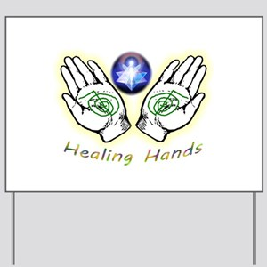 Healing hands Yard Sign
