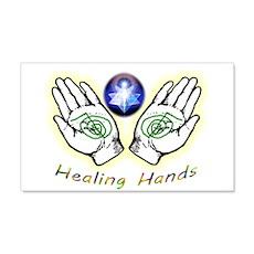 Healing Hands Wall Sticker