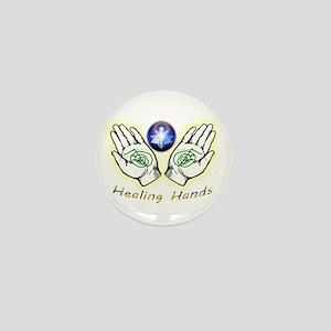 Healing Hands Mini Button