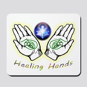 Healing hands Mousepad