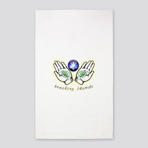 Healing hands Area Rug