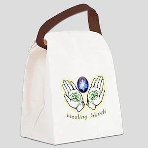 Healing hands Canvas Lunch Bag