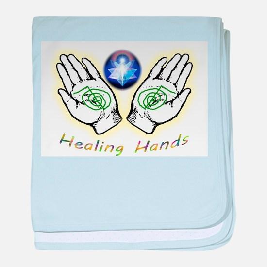 Healing hands baby blanket