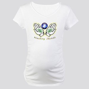 Healing hands Maternity T-Shirt