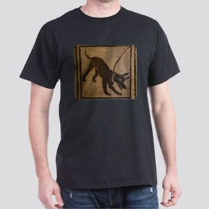 Pompeii Dog Mosaic Dark T-Shirt