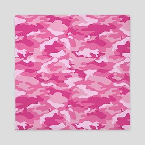 Pink Camo Queen Duvet