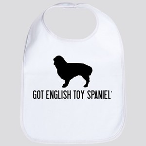 Got English Toy Spaniel Bib