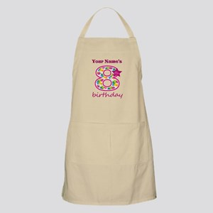 8th Birthday Splat - Personalized Apron