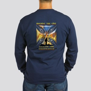 Wildland Firefighter (Hol Long Sleeve Dark T-Shirt