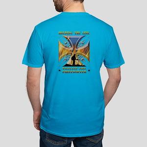 Wildland Firefighter ( Men's Fitted T-Shirt (dark)