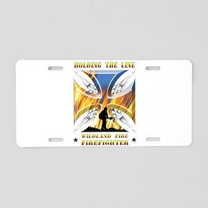 Wildland Firefighter (Holdi Aluminum License Plate